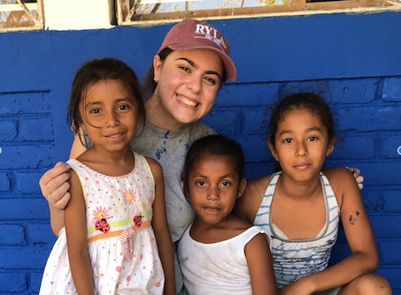Senior Malorie McGruder recently volunteered to help a small community in Nicaragua, Central America during Spring Break.