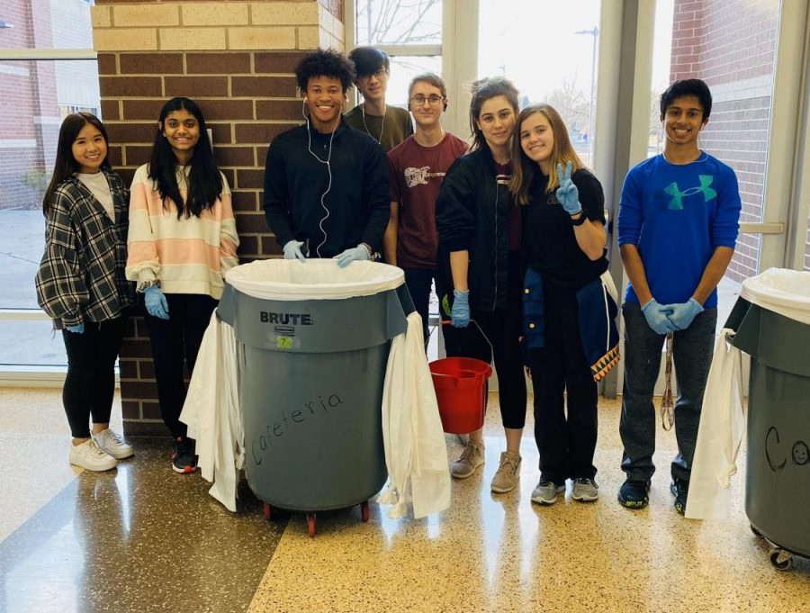 Service club Keeping Campus Spotless