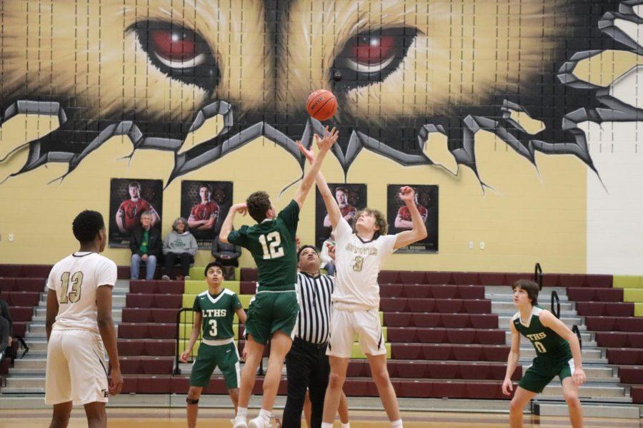 JV Boys Basketball Puts Up A Fight